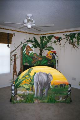 Art Effects' Jungle Bed