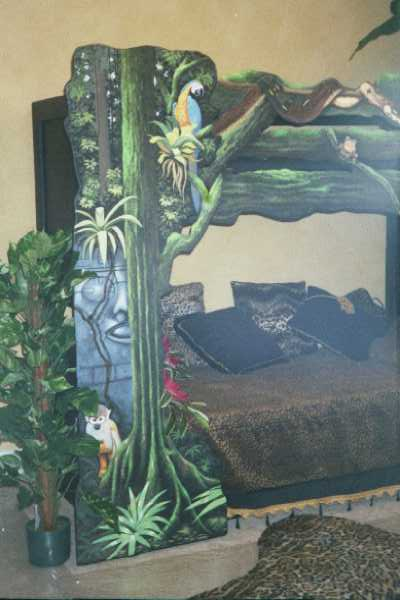Art Effects' Rain Forest Bed